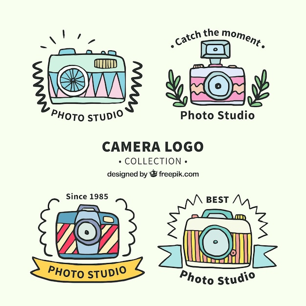 Funny camera logo collection