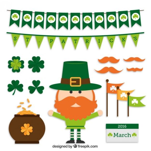 Saint Patrick S Day Free Vector Graphics Everypixel