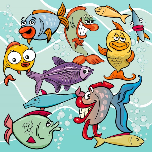 прикольная картинка рыба в виде доктора каждом них