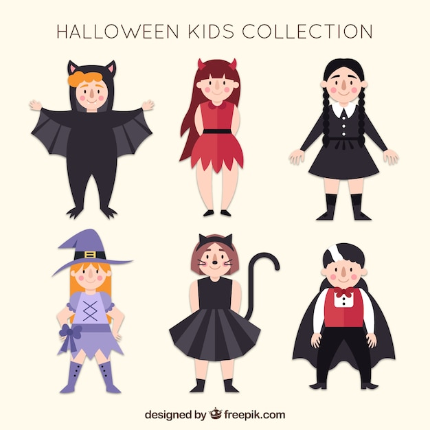 Funny girls with halloween costumes Free Vector  sc 1 st  Freepik & Funny girls with halloween costumes Vector | Free Download