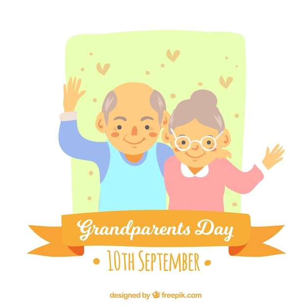 Funny grandparents day design