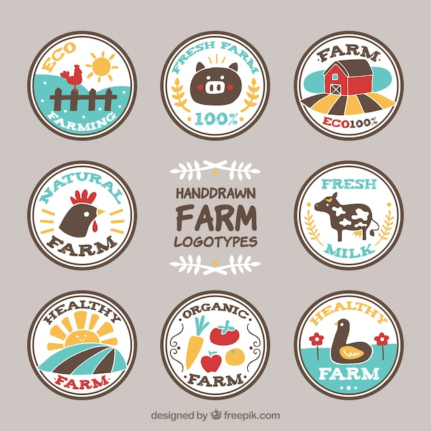 Farm Logo Vectors, Photos and PSD files | Free Download