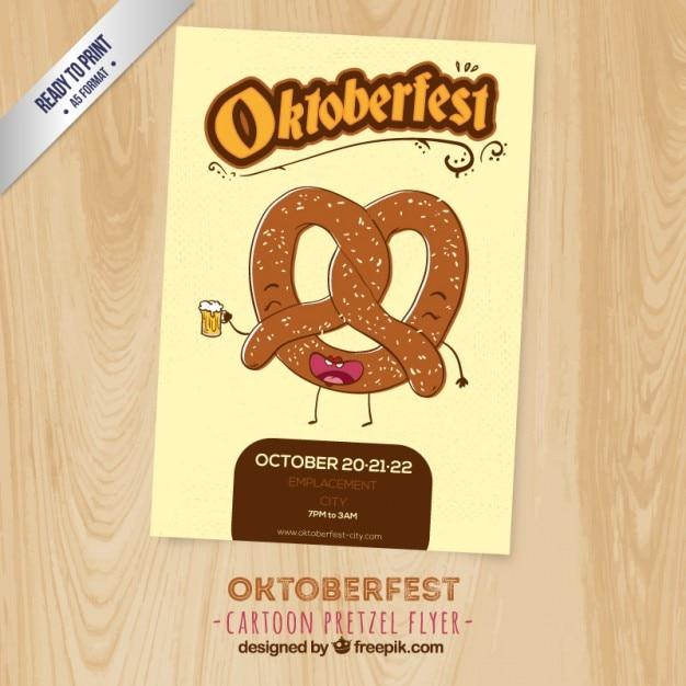 Funny oktoberfest poster