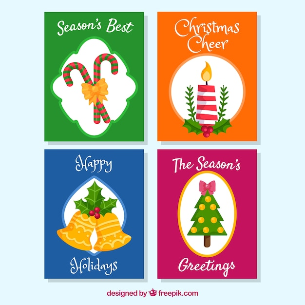 Funny pack of christmas cards
