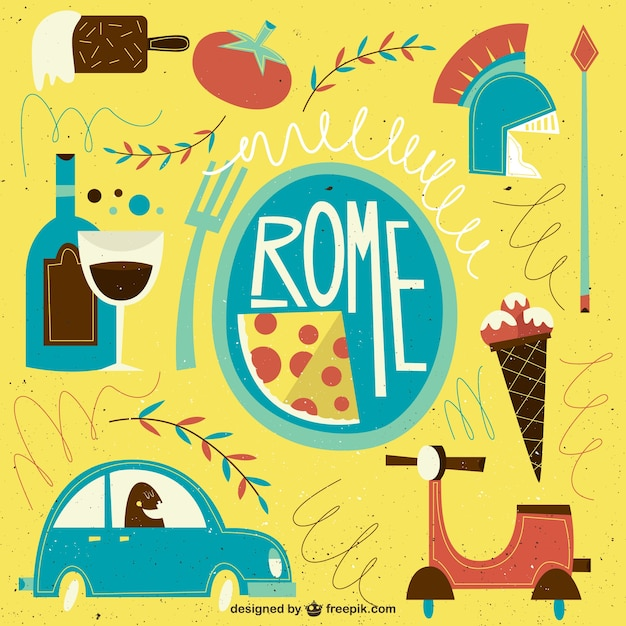 Image result for rome illustrations
