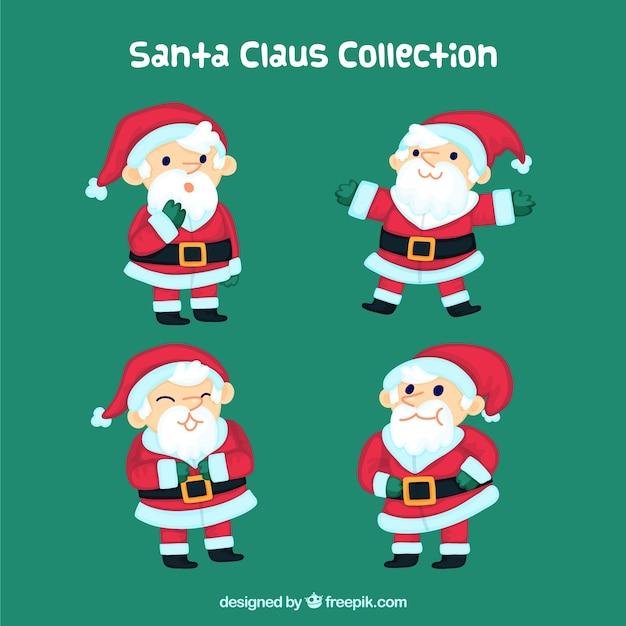 Funny santa claus set