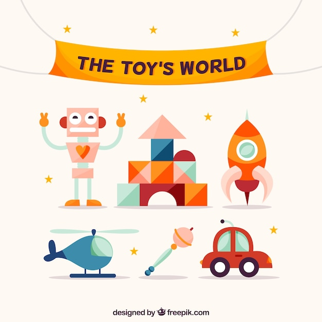 Funny toys pack