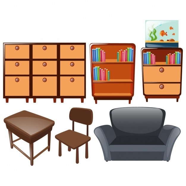 Furniture designs collection vector free download Furniture design software free download