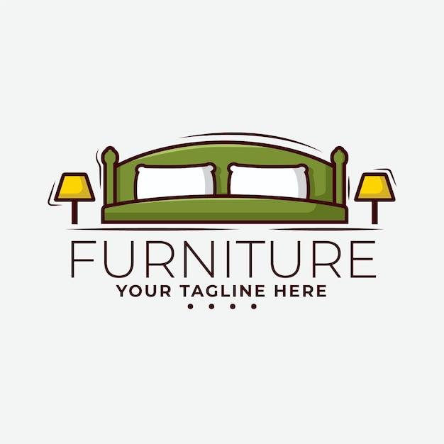 Furniture logo design concept | Free Vector