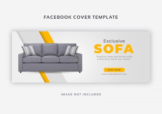 Продажа мебели в фейсбуке Premium векторы