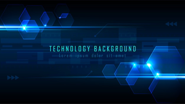 Futuristic abstract background Premium Vector