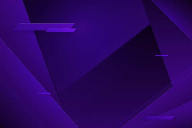 Futuristic glitched violet background with copy space Free Vector