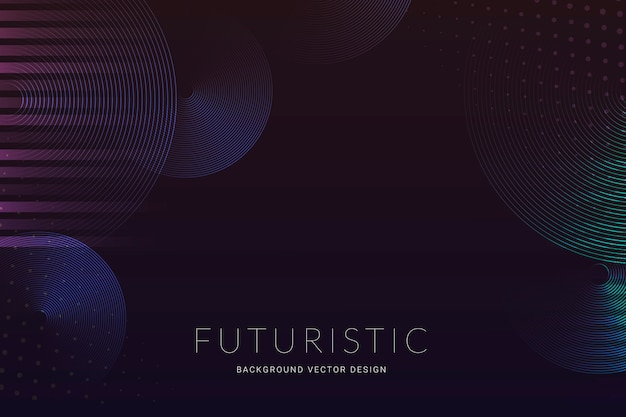 Futuristic halftone background Free Vector