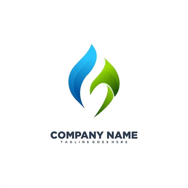 G абстрактный современный логотип Premium векторы