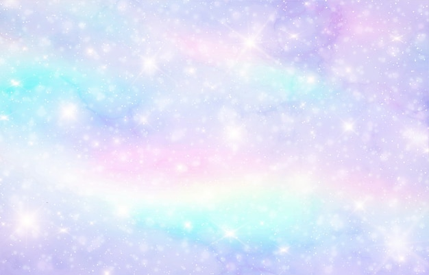 Galaxy fantasy background Premium Vector