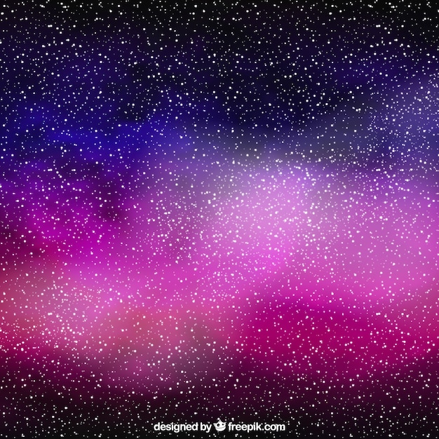 Galaxy full stars background