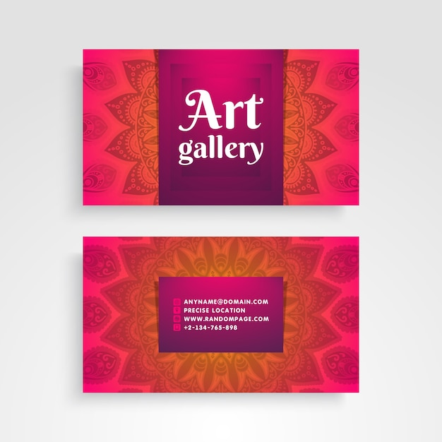 Gallery business card vector free download gallery business card free vector reheart Images