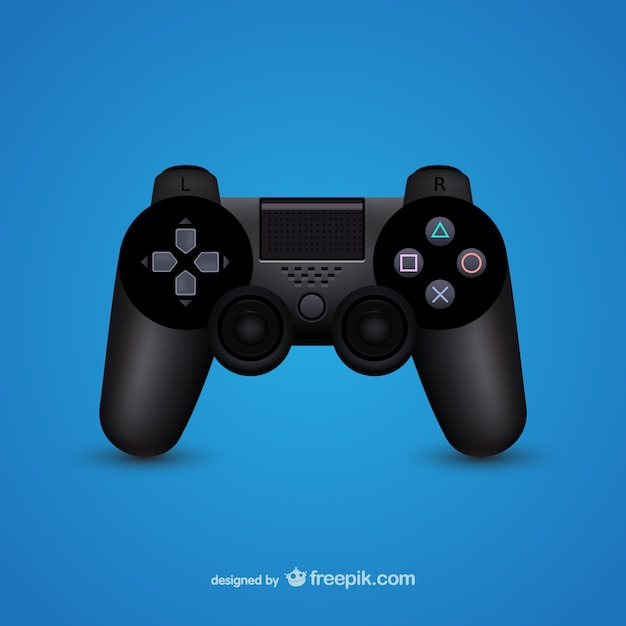 Game controller illustration Free Vector