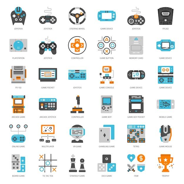 Game entertainment Premium Vector