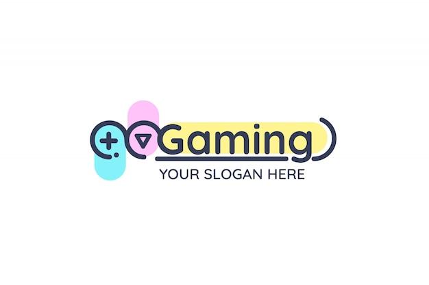 ゲームのロゴ 無料ベクター