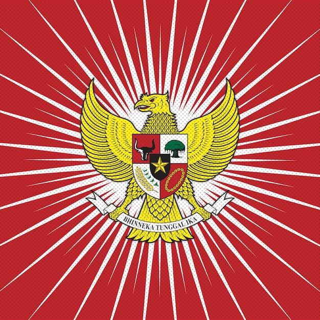 Garuda indonesia Premium Vector