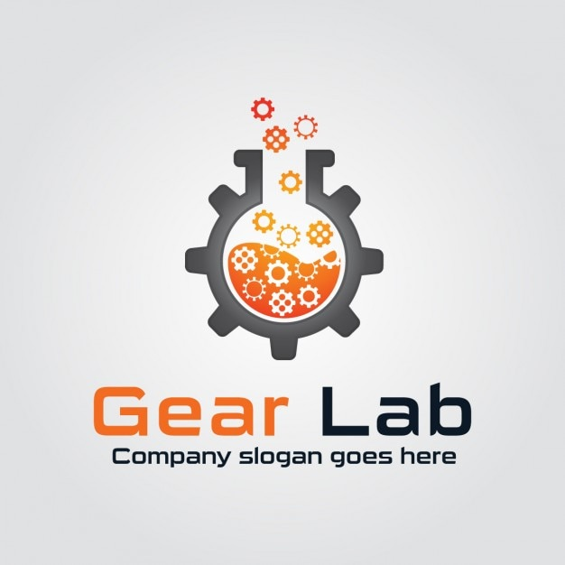 gear lab logo vector free download