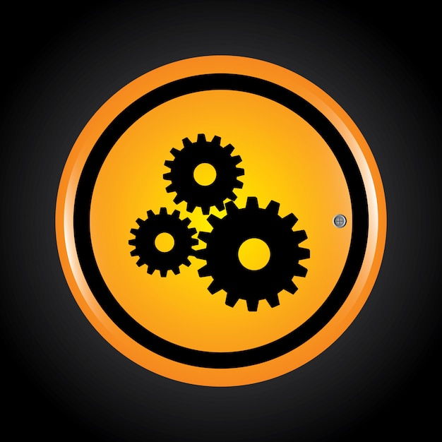 Gears Free Vector