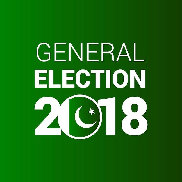 General election pakistan 2018 Free Vector