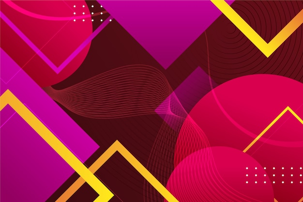 Geometric abstract background Free Vector