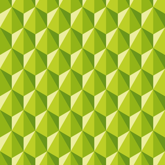 Geometric abstract pattern of hexagons. seamless background in polygonal style. Premium Vector