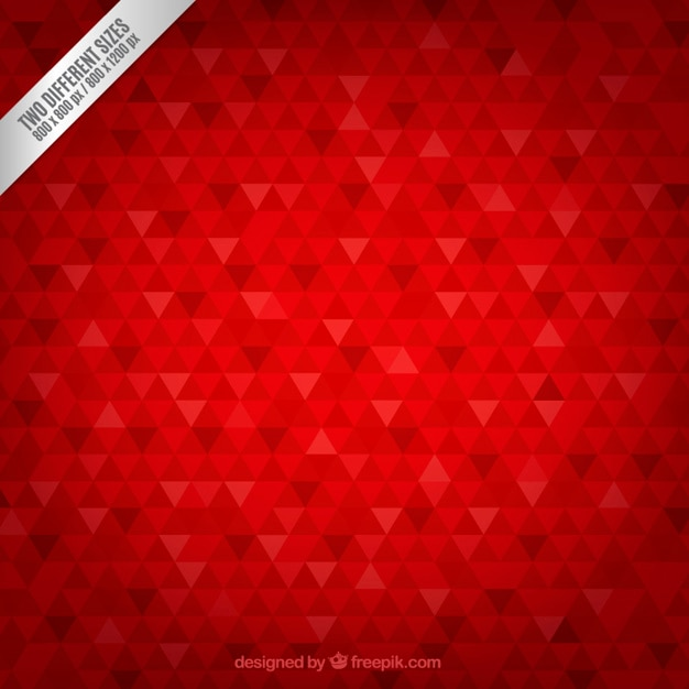 Geometric background in carmine tone Free Vector