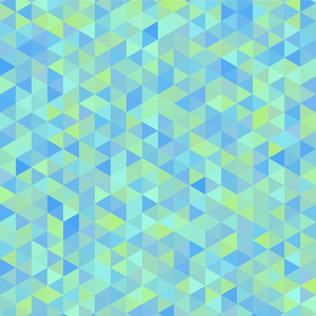 geometric background in blue and green tones free vector