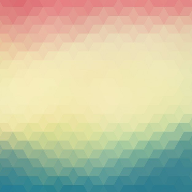 Geometric background in blue and red\ tones