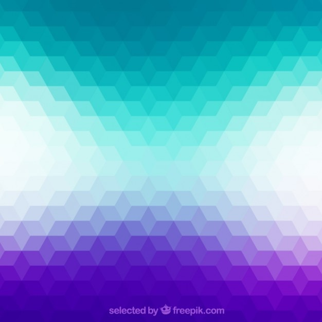 Geometric background in gradient style