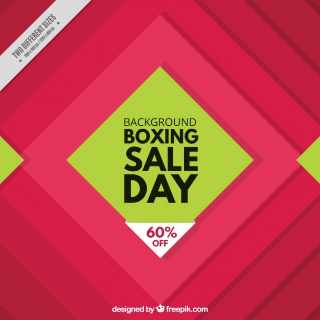 Geometric background of boxing day
