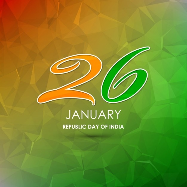 Geometric background, republic day of india