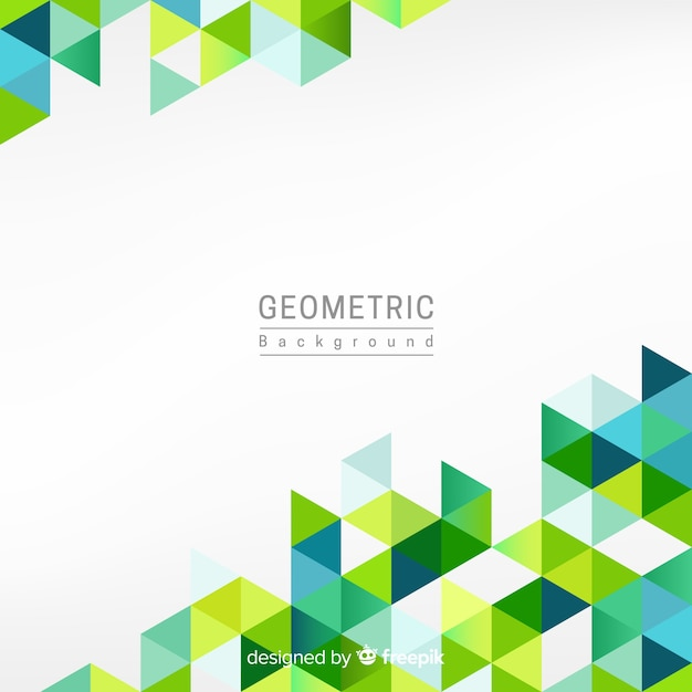 Geometric background Premium Vector