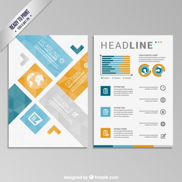 School Design Background For Brochures