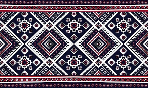 幾何学的な民族パターンオリエンタル。シームレスなパターン。 Premiumベクター
