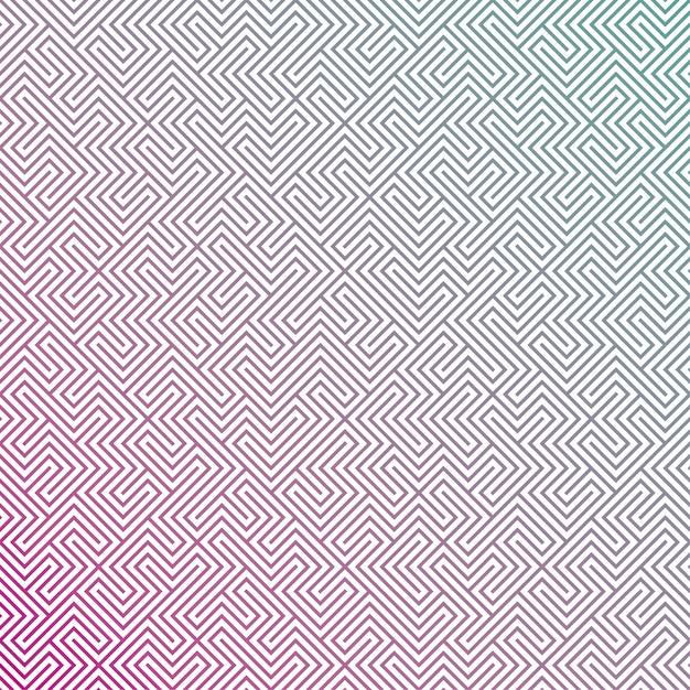 Geometric gradient background Free Vector