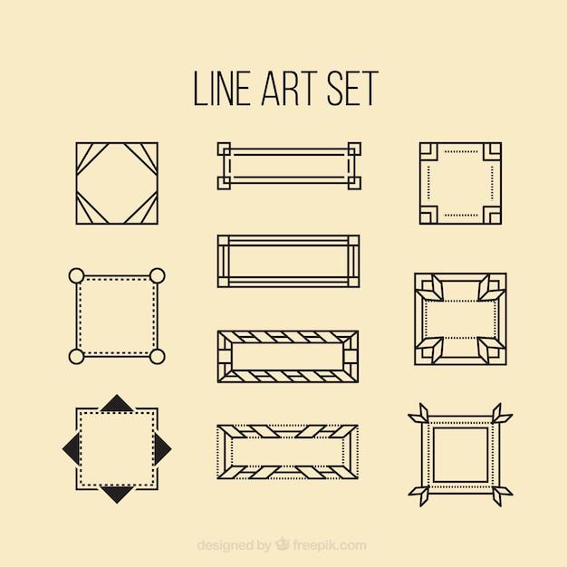 geometry line art - photo #40
