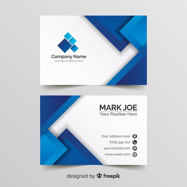 Business Line Card Template from image.freepik.com