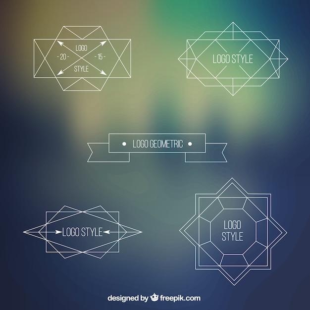 Geometric logos Vector | Free Download
