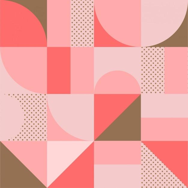 Geometric minimalistic pattern Premium Vector
