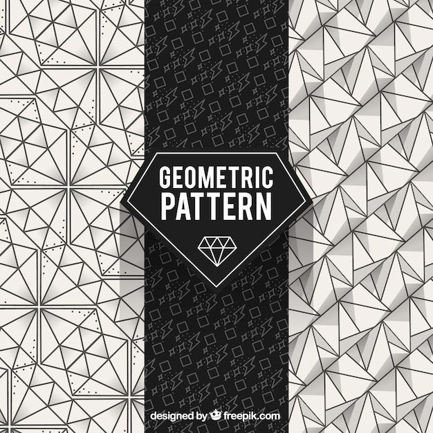 Geometric pattern, diamond Vector | Free Download