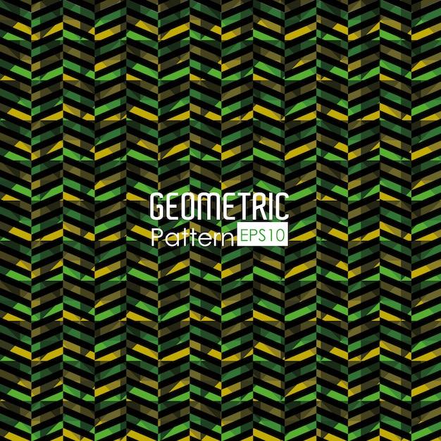 Geometric pattern illustration Free Vector