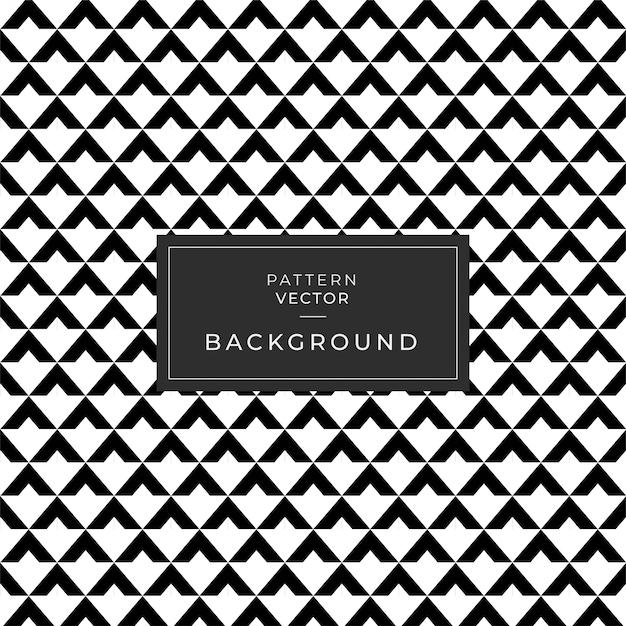 Геометрический рисунок треугольник плитки текстуры бесшовные черный и белый Premium векторы