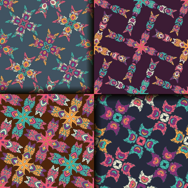 Geometric patterns collection