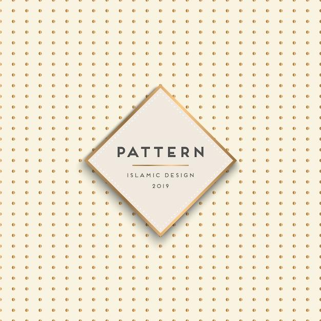 Geometric seamless pattern background Premium Vector