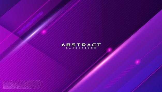 Геометрическая форма футуристическая технология движения линии абстрактный фон Premium векторы